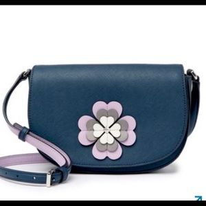 KATE SPADE Reiley Spade Flower Applique Crossbody